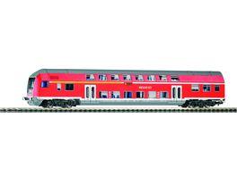 PIKO 57621 Doppelstocksteuerwagen DBbuzf778 DB Regio VI Gleichstrom