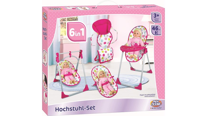 Mueller Toy Place 6 in 1 Hochstuhl Set