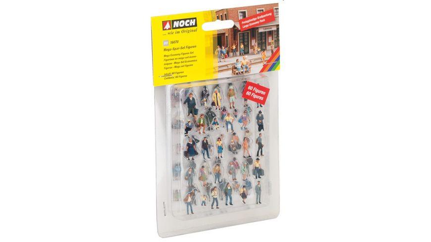NOCH 16070 H0 Mega Spar Set Figuren