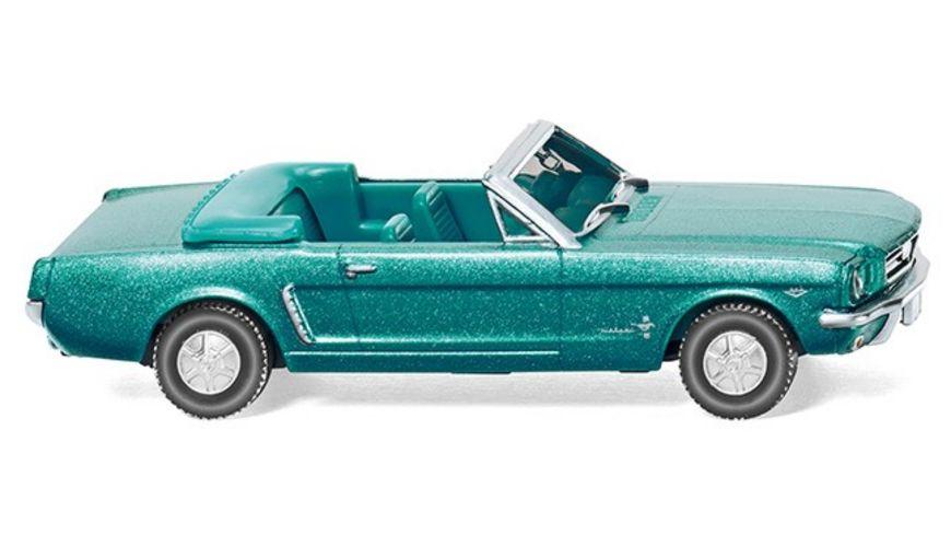Wiking - Ford Mustang Cabriolet - türkisgrün-metallic
