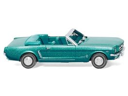 WIKING 020547 Ford Mustang Cabriolet tuerkisgruen