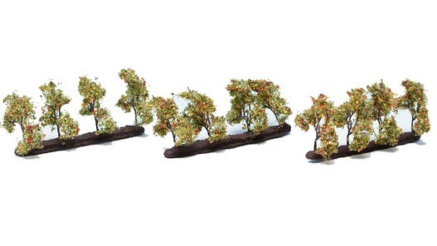 NOCH 21532 H0 Plantagenbaeume mit Aepfeln
