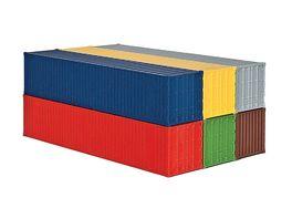 kibri H0 40 Fuss Container 6 Stueck
