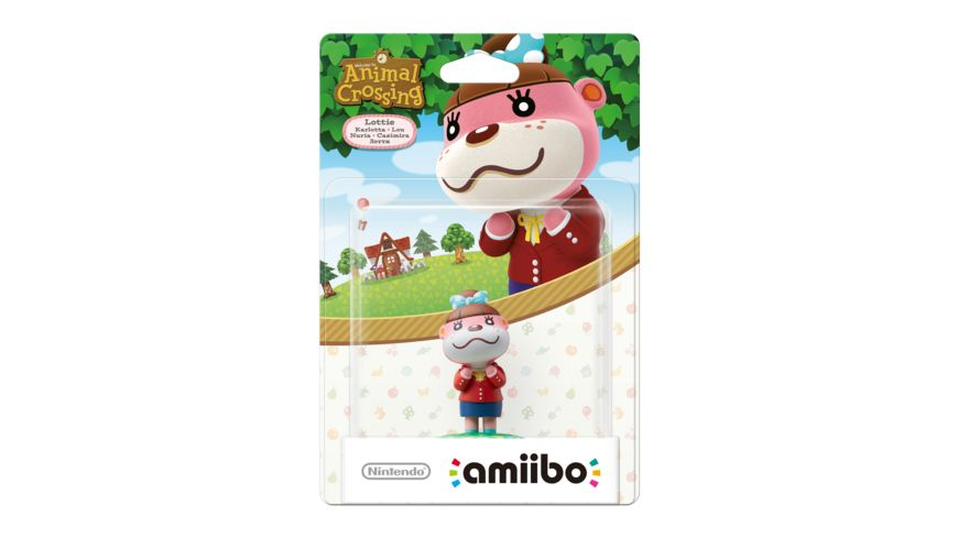Amiibo Animal Crossing Figur Karlotta