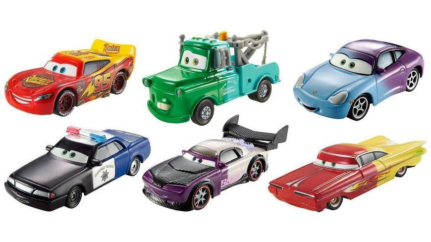 Mattel Disney Pixar Cars Farbwechsel Fahrzeuge sortiert