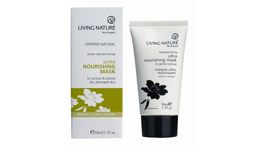 LIVING NATURE Ultra Naehrende Maske