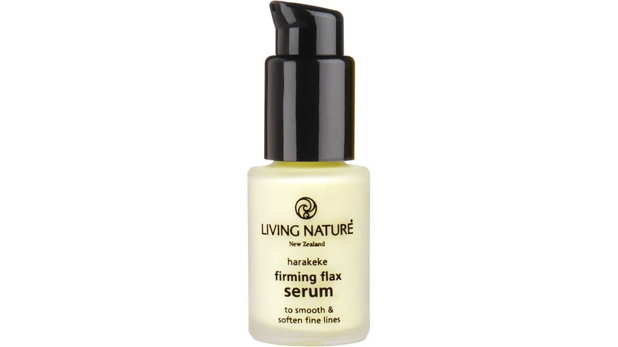 LIVING NATURE Straffendes Flax Serum