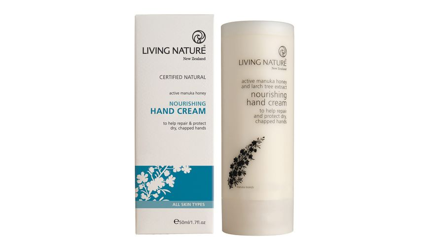 LIVING NATURE Naehrende Handcreme