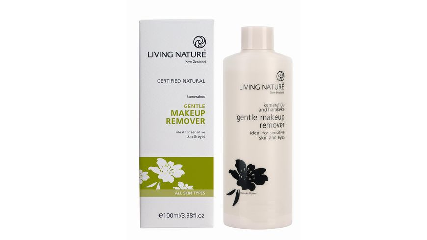 LIVING NATURE Sanfter Make-up Entferner