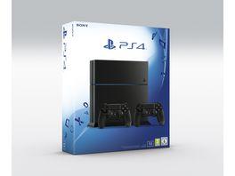 PS4 Konsole 1 TB inkl 2 Dualshock 4 Controller