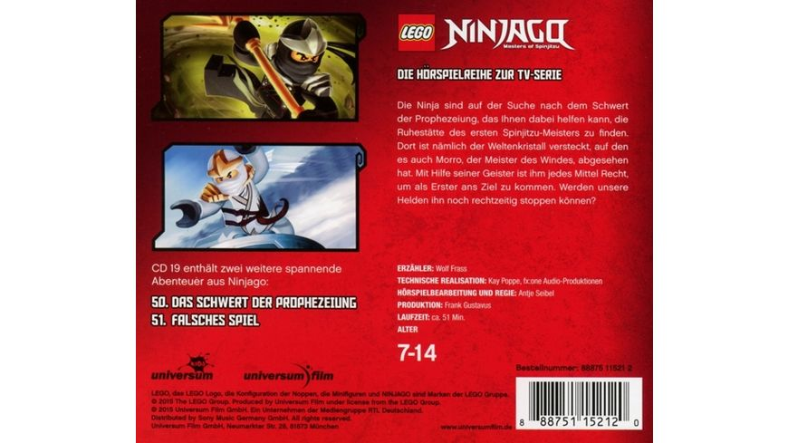 LEGO Ninjago CD19
