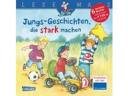 Buch Carlsen LESEMAUS Sonderbaende Jungs Geschichten die stark machen
