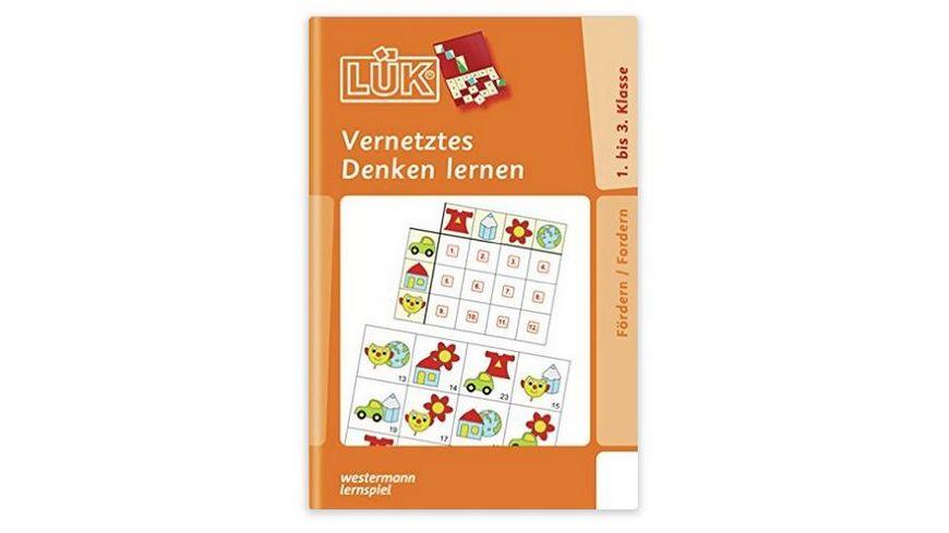 Buch LUeK Foerdern und Fordern Vernetztes Denken lernen fuer Klasse 1 bis 3