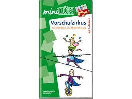 miniLUeK Kindergarten Vorschule Vorschulzirkus Akrobaten Abenteuer