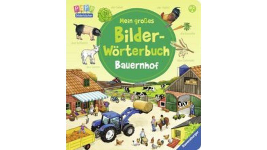 Ravensburger Mein grosses Bilder Woerterbuch Bauernhof