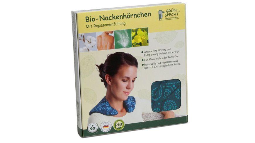 Gruenspecht Natur Pur Bio Nackenhoernchen