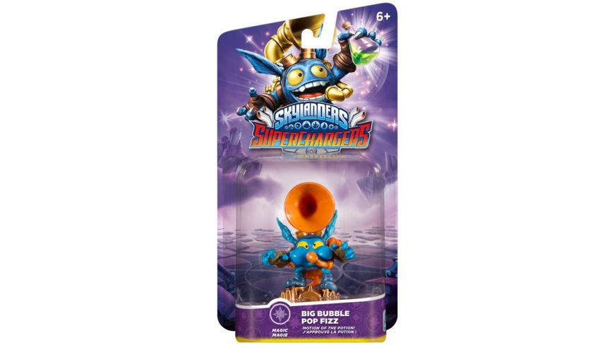 Skylanders Superchargers Fahrer Big Bubble Pop Fizz