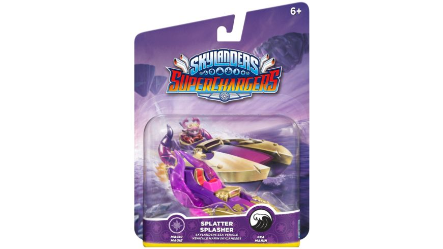 Skylanders Superchargers Fahrzeug Splatter Splash