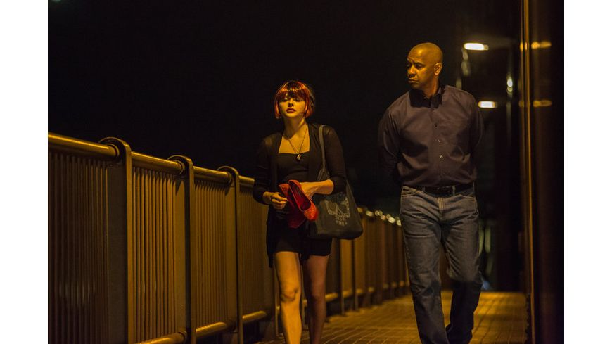 The Equalizer Blu ray Disc