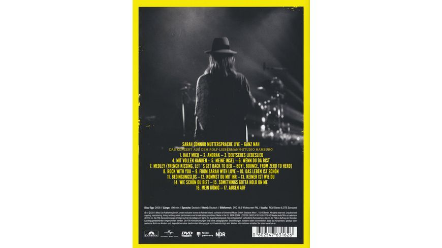 Muttersprache Live Ganz Nah DVD