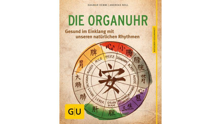Die Organ Uhr Gesund im Einklang mit unseren natuerlichen Rhythmen