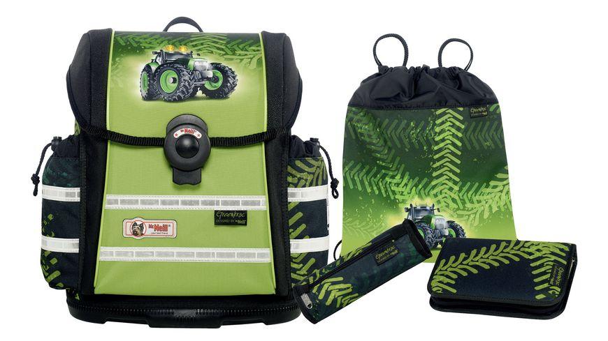 McNeill Schulranzen Set Ergo Light 912S 4tlg Greentrac