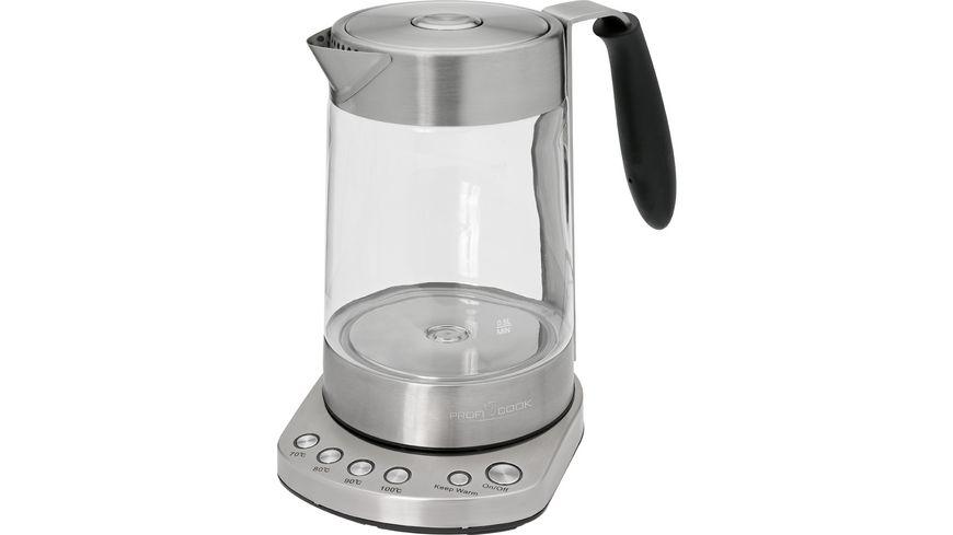 PROFI COOK Wasserkocher Glas PC-WKS 1020 G