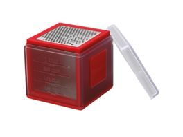 Microplane Reibe CUBE Rot