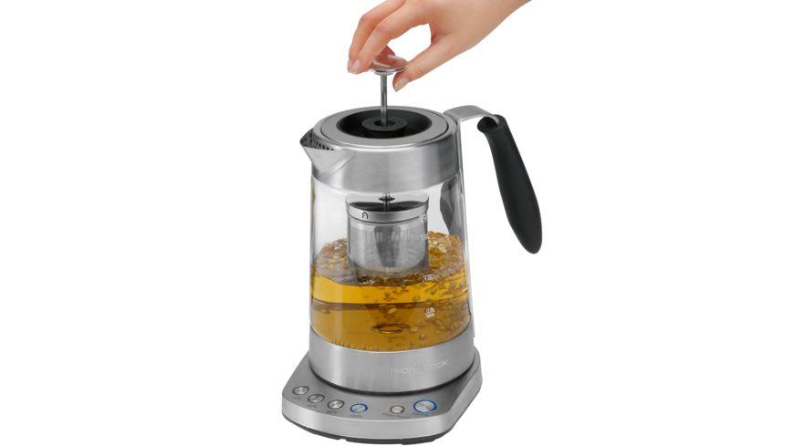 PROFI COOK Glas Tee Wasserkocher PC WKS 1020 G