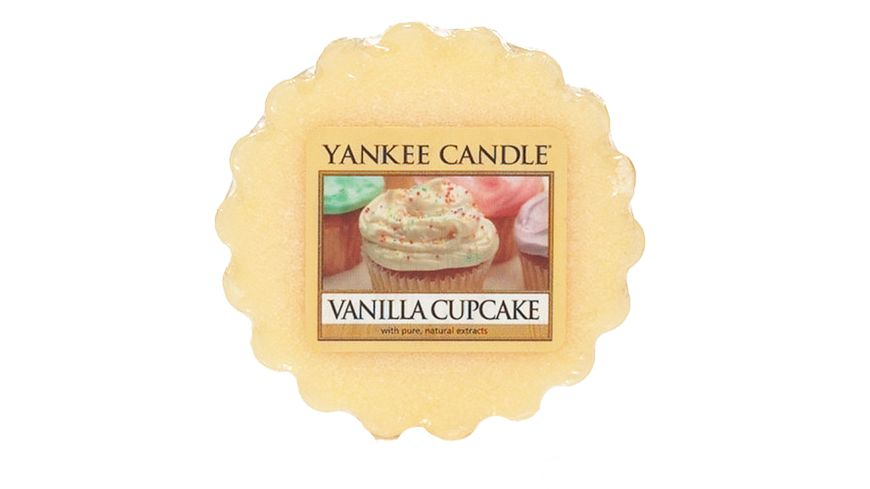 YANKEE CANDLE Dufttart Vanilla Cupcake