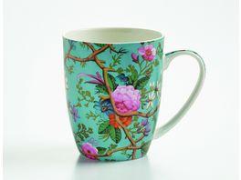 MAXWELL WILLIAMS Geschirr Kunst auf Porzellan Becher Victorian Garden
