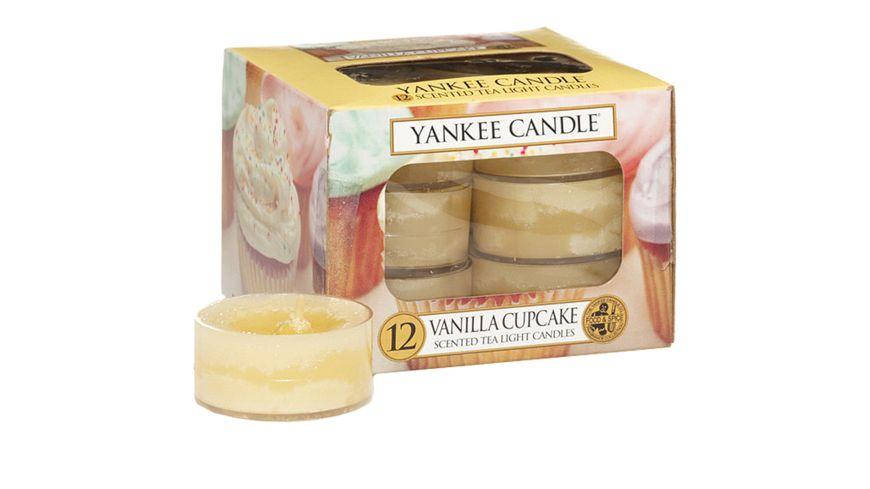 YANKEE CANDLE Duftteelichte 12er Pack Vanilla Cupcake