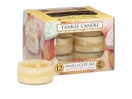 YANKEE CANDLE Teelichter Vanilla Cupcake 12er Pack