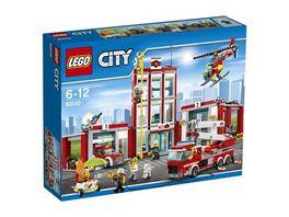 LEGO City 60110 Grosse Feuerwehrstation