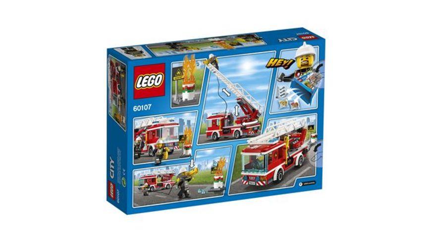 LEGO City 60107 Feuerwehrfahrzeug mit fahrbarer Leiter