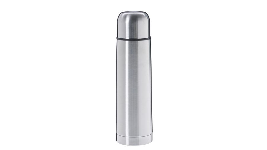 TRENDSHOP Isolierflasche Edelstahl 0,5l