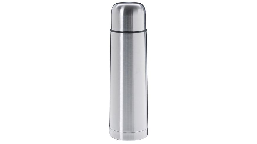 TRENDSHOP Isolierflasche Edelstahl 0,75l