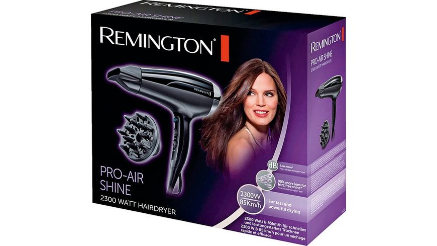REMINGTON Ionen Haartrockner Pro Air Shine D5215