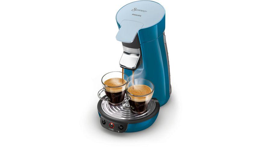 PHILIPS Senseo Kaffeemaschine Viva Cafe HD7829 70 blau