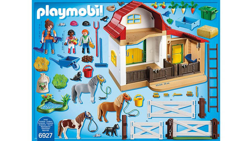 PLAYMOBIL 6927 Country Ponyhof
