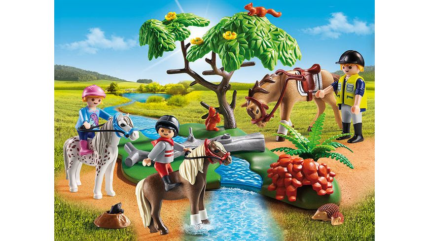 PLAYMOBIL 6947 Country Froehlicher Ausritt