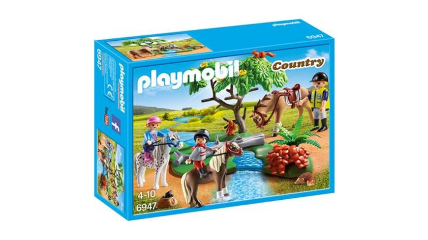 PLAYMOBIL 6947 Country Froehlicher Ausritt