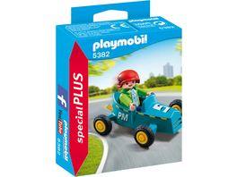 PLAYMOBIL 5382 Special Plus Junge mit Kart