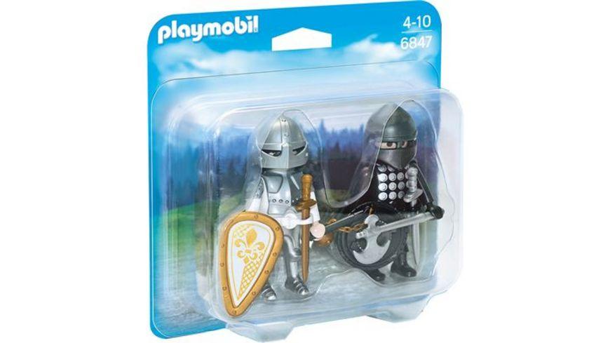 PLAYMOBIL 6847 Duo Packs Duo Pack Ritterduell