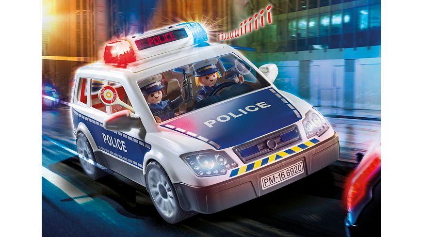 PLAYMOBIL 6873 City Action Polizei Einsatzwagen