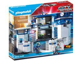 PLAYMOBIL 6872 City Action Polizei Kommandozentrale mit Gefaengnis