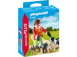 PLAYMOBIL 5380 Special Plus Hundesitterin