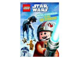 Buch AMEET Verlag LEGO Star Wars Raetsel Stickerspass mit ueber 180 Stickern