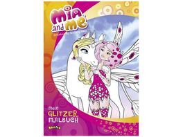 Buch Egmont Mia and me Mein Glitzermalbuch