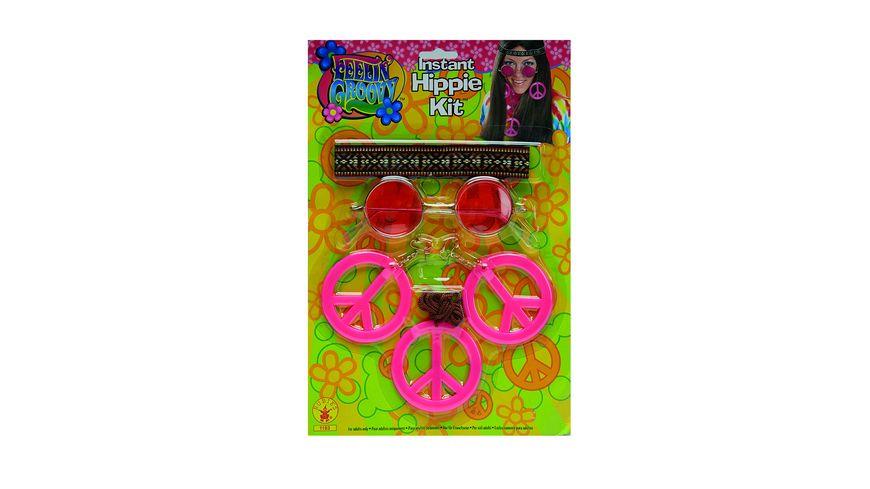 Rubies Hippie Set Damen